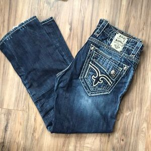 Rock Revival Men's Jasper Slim Straight Jeans 36
